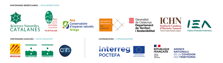 Bandeau des logos des partenaires de Floralab