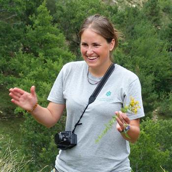 Maria Martin, coordinatrice de Floralab