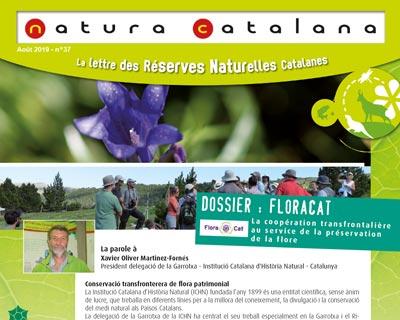 Visuel de Natura Catalana, lettre des réserves naturelles catalanes du mois d'août 2019