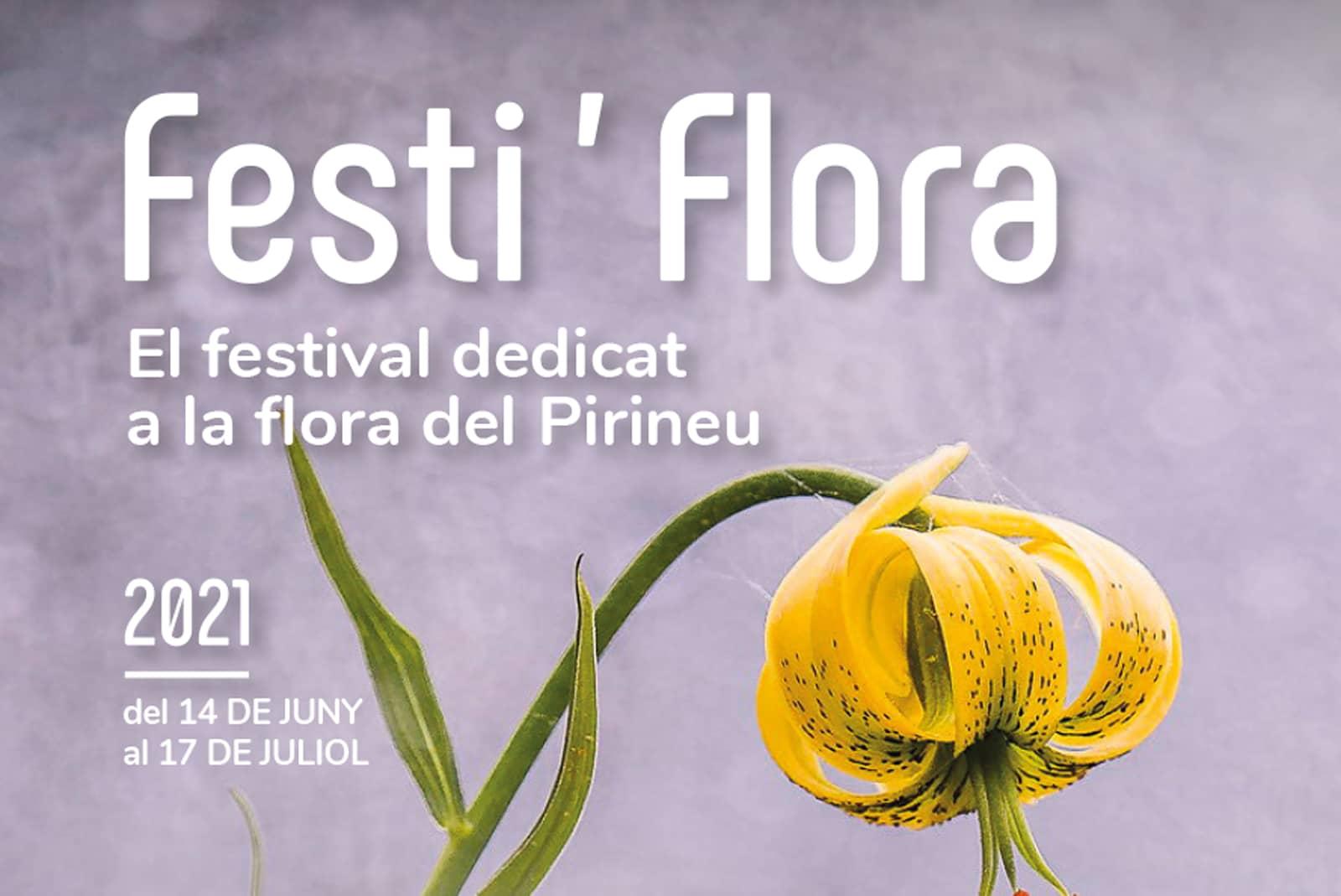Poster Festi'flora 2021